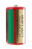 Tungt batteri royaltyfria bilder
