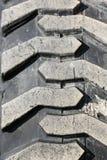 Tungt gummihjul, closeup royaltyfri fotografi