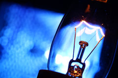 Tungten Bulb Royalty Free Stock Images