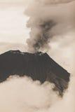 Tungurahua Volcano Crater Stock Photography