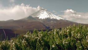 Tungurahua Volcano Crater utbrott 2015 lager videofilmer