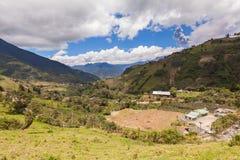 Tungurahua volcano day explosion Royalty Free Stock Photography