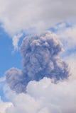 Tungurahua volcano day explosion Stock Photography