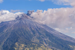 Day Explosion Of Tungurahua Stock Images