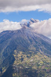 Explosion Of Tungurahua, Throat Of Fire, South America Stock Photo