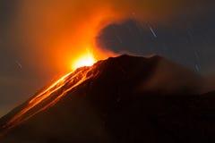 Tungurahua Volcano Ecuador Royalty Free Stock Photography