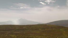 Tungurahua Volcano Eruption 2015 stock videobeelden