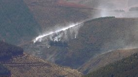 Tungurahua Volcano Eruption 2015 stock footage