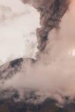 Tungurahua Volcano Fiery Eruption fotografia stock libera da diritti