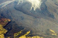 Tungurahua Volcano Lava Flows Royaltyfria Foton