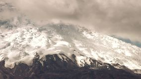 Tungurahua Volcano Pan Shot stock footage