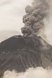 Tungurahua Volcano Powerful Eruption Royalty Free Stock Photo
