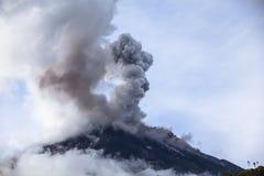 Tungurahua wulkan Zdjęcie Royalty Free