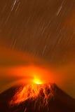 Tungurahua wulkan Ekwador Obraz Stock