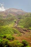 Tungurahua wulkan Jeden Aktywni Volcanoes Obraz Stock