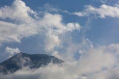 Tungurahua wulkan w Banos, Ekwador Zdjęcie Stock