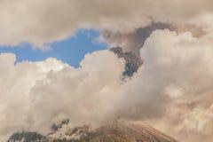 Tungurahua wulkanu dnia aktywność Obraz Royalty Free