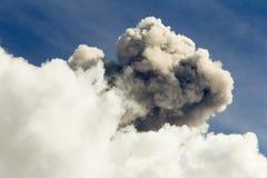 Tungurahua wulkanu erupcja Obraz Stock
