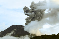 Tungurahua wulkanu wybuch Zdjęcia Stock