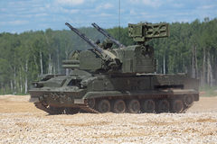 Tunguska (SA-19格里森) 库存图片