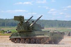 The Tunguska (SA-19 Grison) Royalty Free Stock Images