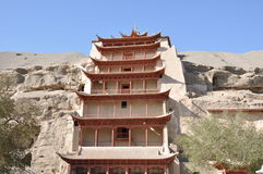 Tunhuang Mogao Grottoes Royalty Free Stock Photos