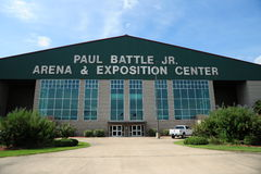 The Tunica Arena and Exposition Center, Tunica Mississippi. The largest venue of its kind in the Mid South, the Tunica Arena and Exposition Center is a popular royalty free stock images
