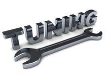 Tuning stock illustration