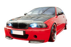Tuning Car. Super Sports Car with Tuning Packet royalty free stock images