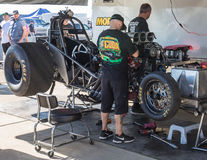Tuning the Dragster Stock Images