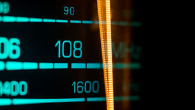 Tuning into 108FM, 1600Khz AM Stock Photography