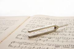 Tuning fork Stock Image