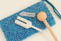 Tuning fork Royalty Free Stock Photography