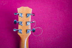 Tuning keys of guitar Royalty Free Stock Image