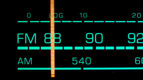 Tuning into 88 MHz FM Stock Images