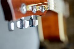 Tuning pegs. Stock Photography