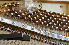 Tuning a piano Stock Photo