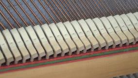 Tuning Piano. Close up shot of tuning piano.  stock video footage