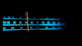 Tuning radio Royalty Free Stock Photo