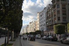 Tunis city center Stock Photos