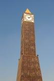 Tunis clock tower. Major squares in Tunis, Tunisia Stock Photo