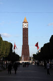 Tunis Clock Tower Royalty Free Stock Image