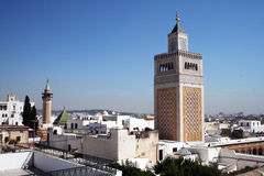 Tunis landscape Royalty Free Stock Photography