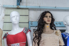 Tunis maniquies Royalty Free Stock Image