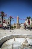 Tunis minaret. Mosque minaret Tunis Moslem Islam Royalty Free Stock Image