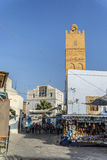 Tunis minaret stock photography
