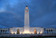 Tunis moské royaltyfri fotografi