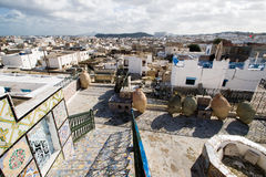 Tunis Overview. Great View Over the Historic Town of Tunis Stock Images