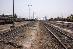 Tunis railroad Royalty Free Stock Photography