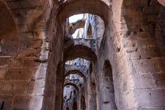Tunis rinas Romans Stock Image
